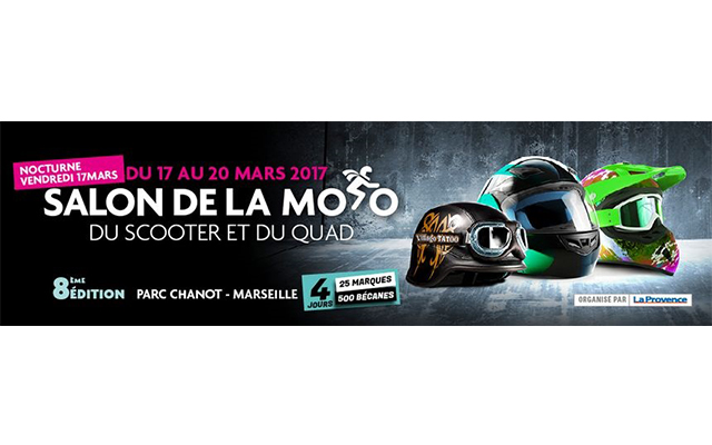 Salon de la Moto, du Scooter et du Quad – 14.03.17