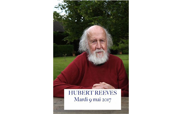 Conférence d'Hubert Reeves – 05.05.17