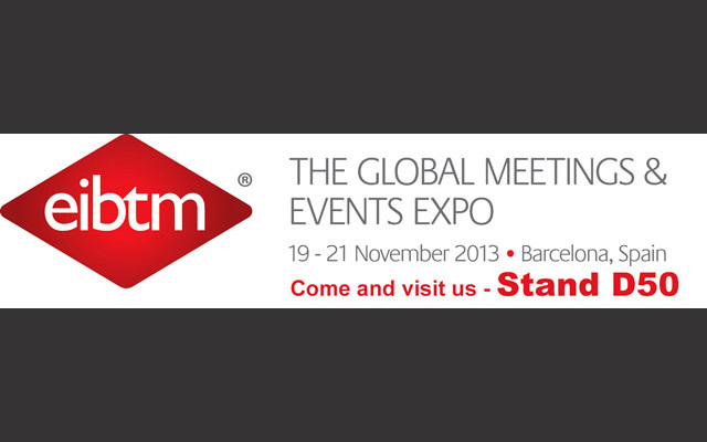 Meet us at EIBTM trade show ! <!--– -->