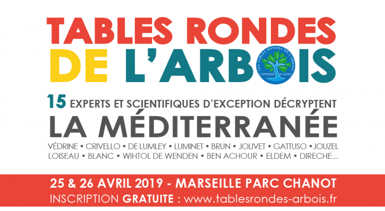 Assistez aux Tables Rondes de l'Arbois <!--– -->
